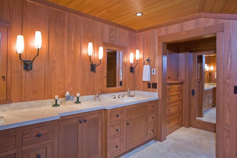 24 Brown Master Bathroom Designs-24