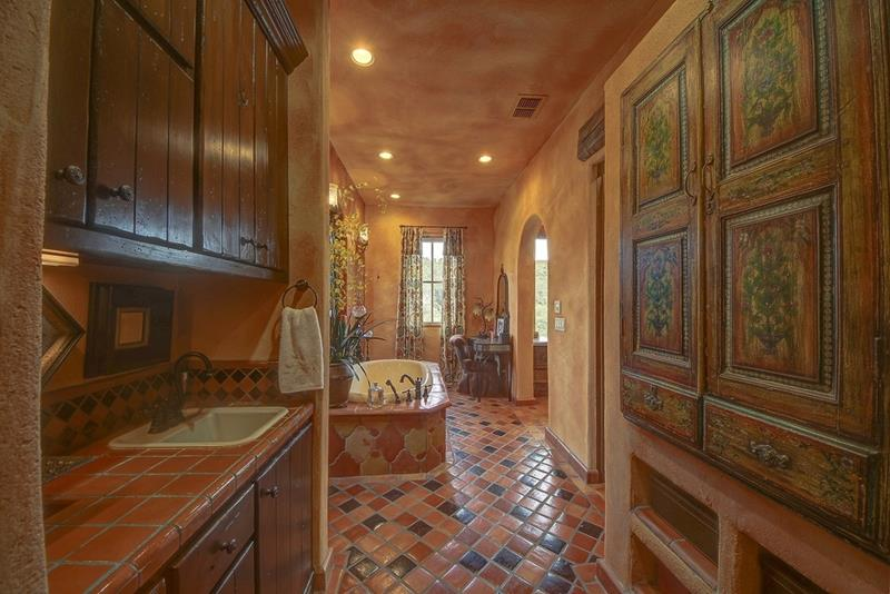 image named 24 Brown Master Bathroom Designs title