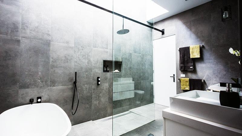 image named 24 Stunning Rain Shower Designs title