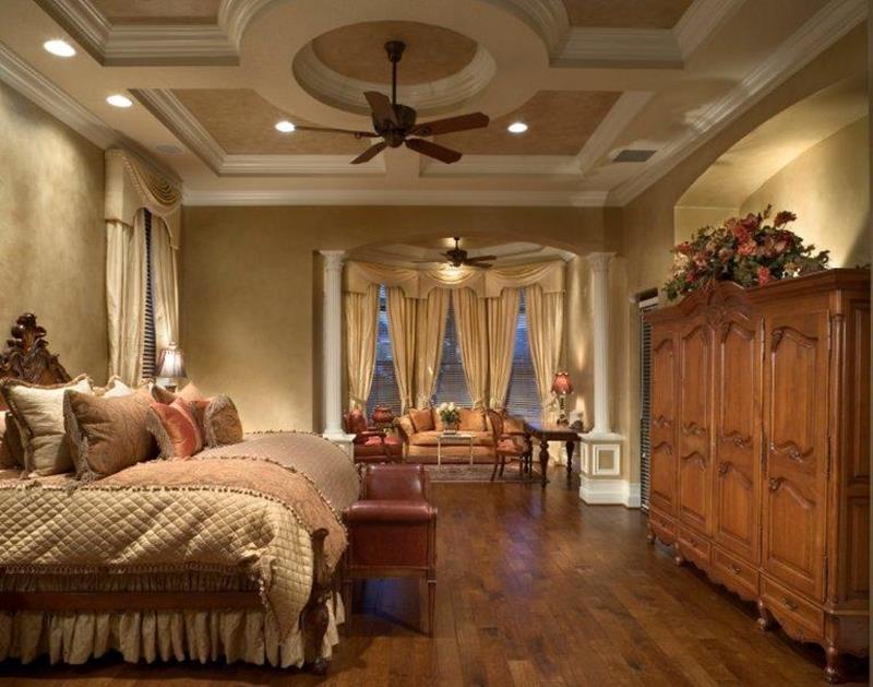 25 Brown Master Bedroom Designs-10