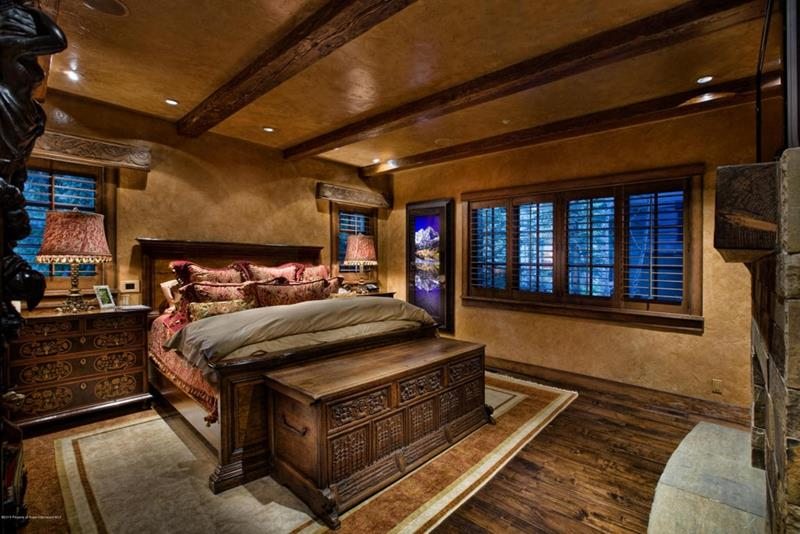 25 Brown Master Bedroom Designs-13