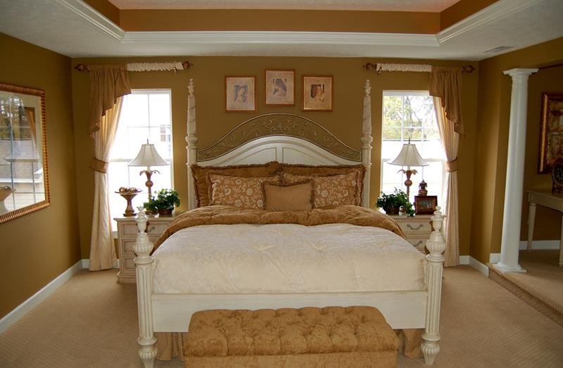 25 Brown Master Bedroom Designs-20