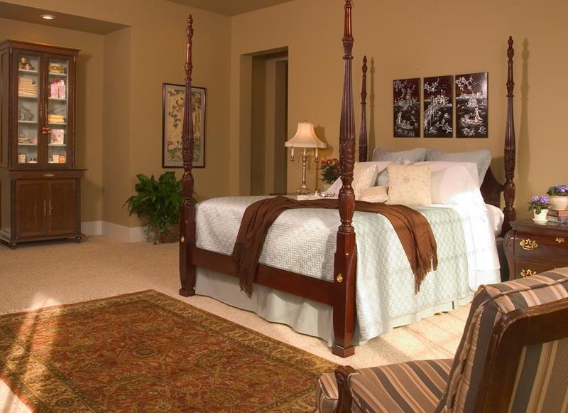 25 Brown Master Bedroom Designs-21
