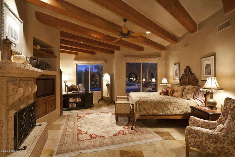 25 Brown Master Bedroom Designs-23