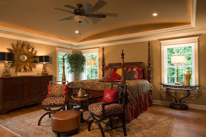 25 Brown Master Bedroom Designs-25