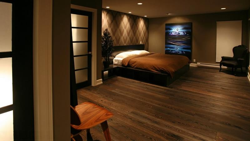 25 Brown Master Bedroom Designs-6