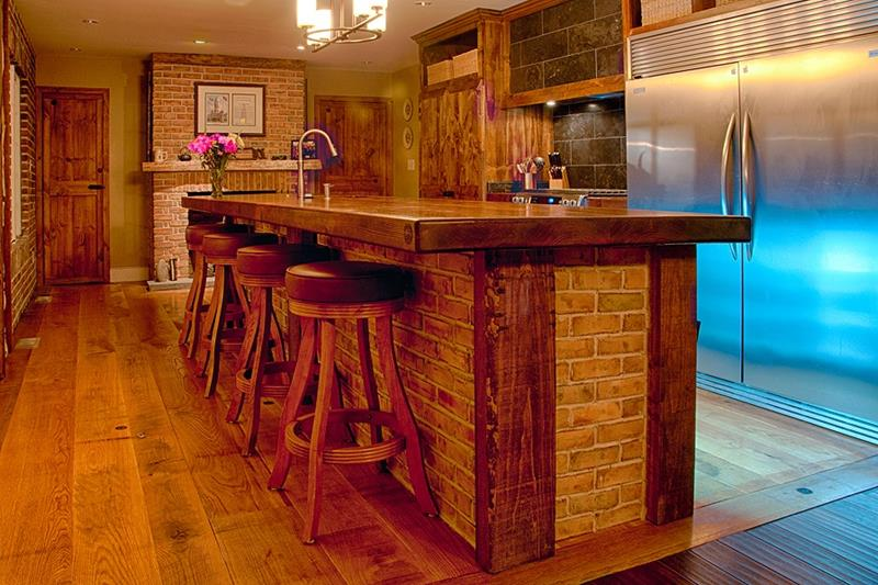 25 Kitchens with Stunning Wood Counters-10