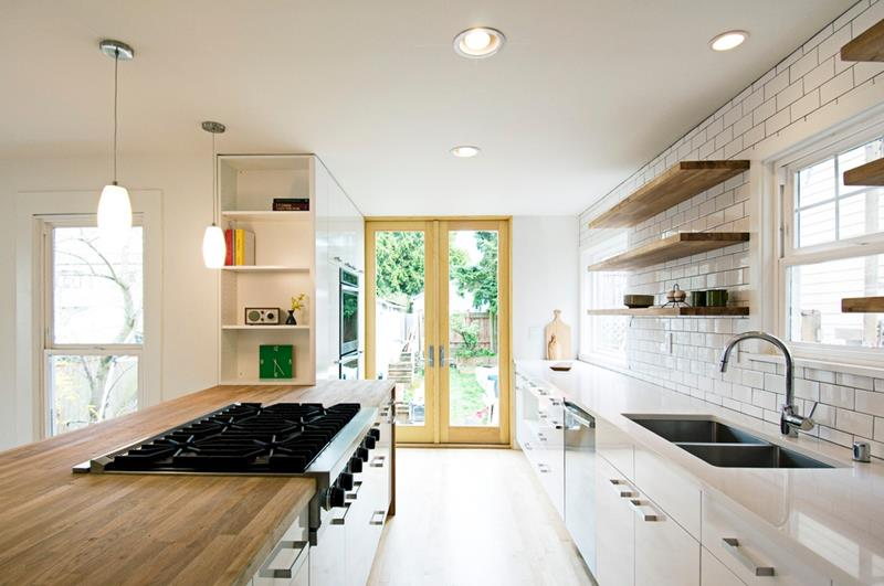 25 Kitchens with Stunning Wood Counters-11