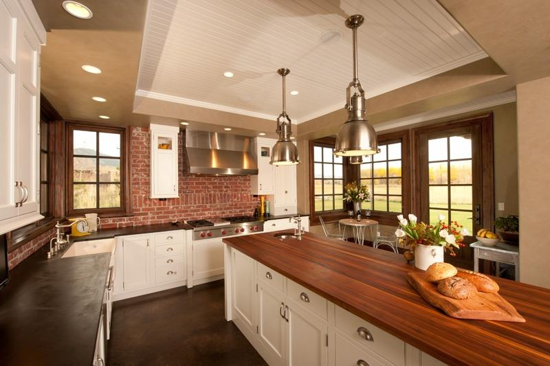 25 Kitchens with Stunning Wood Counters-15