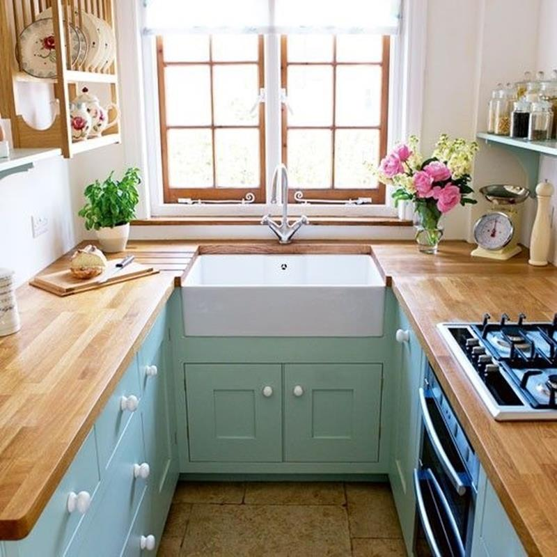 25 Kitchens with Stunning Wood Counters-17