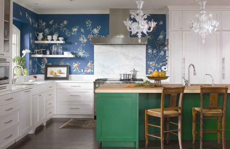25 Kitchens with Stunning Wood Counters-2