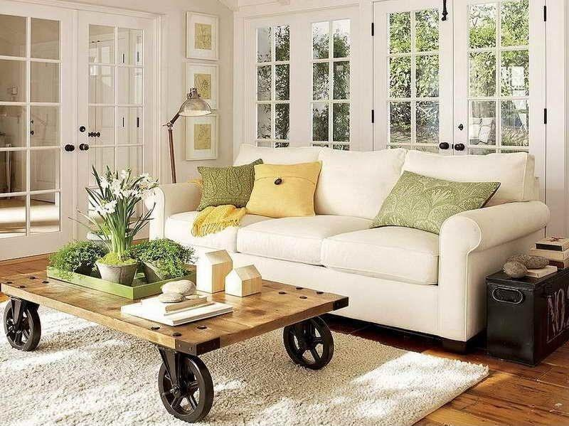 image named 23 Shabby Chic Living Room Design Ideas title