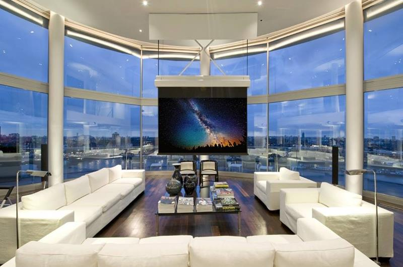 24 Design Ideas for Living Room Walls-1