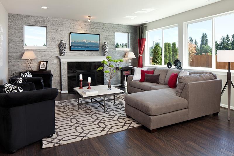 24 Design Ideas for Living Room Walls-3