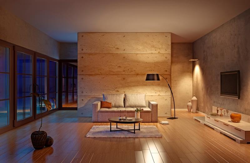 image named 24 Design Ideas for Living Room Walls title