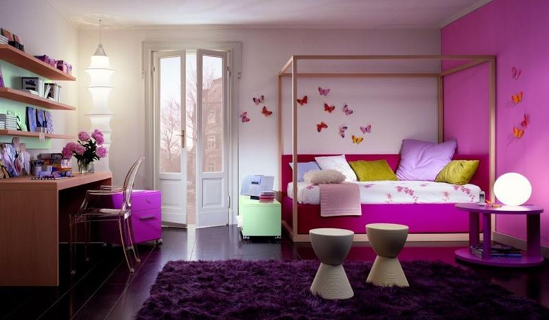25 Beautiful Bedrooms with Accent Walls-10