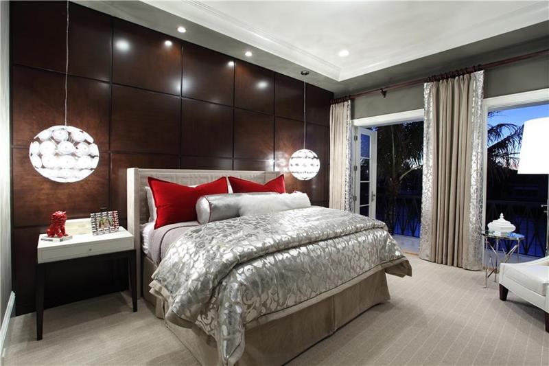25 Beautiful Bedrooms with Accent Walls-17