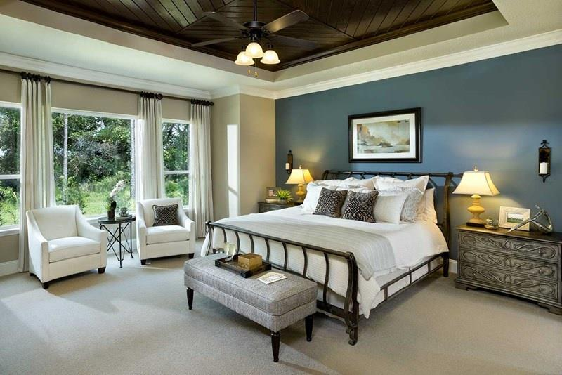 25 Beautiful Bedrooms with Accent Walls-2