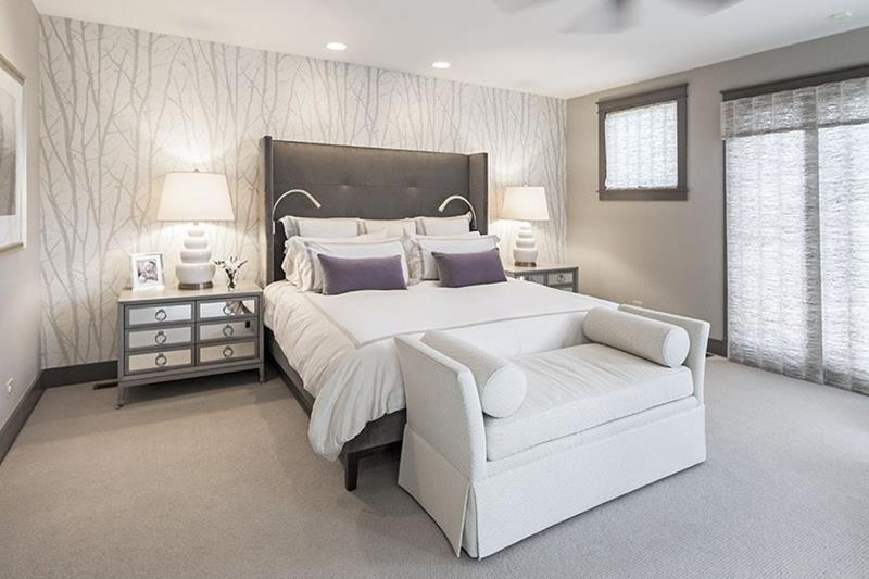 25 Beautiful Bedrooms with Accent Walls-22