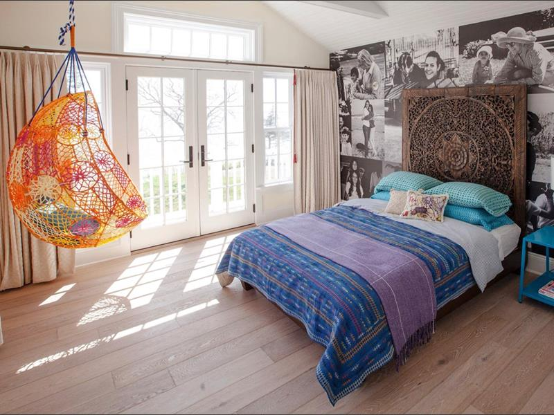 25 Beautiful Bedrooms with Accent Walls-24