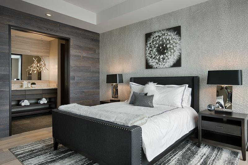 25 Beautiful Bedrooms with Accent Walls-25