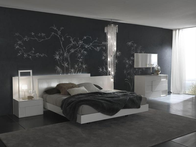 25 Beautiful Bedrooms with Accent Walls-6