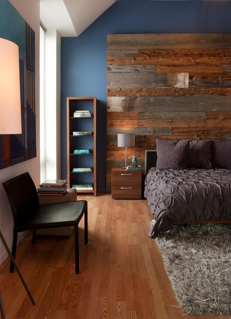 image named 25 Beautiful Bedrooms with Accent Walls title