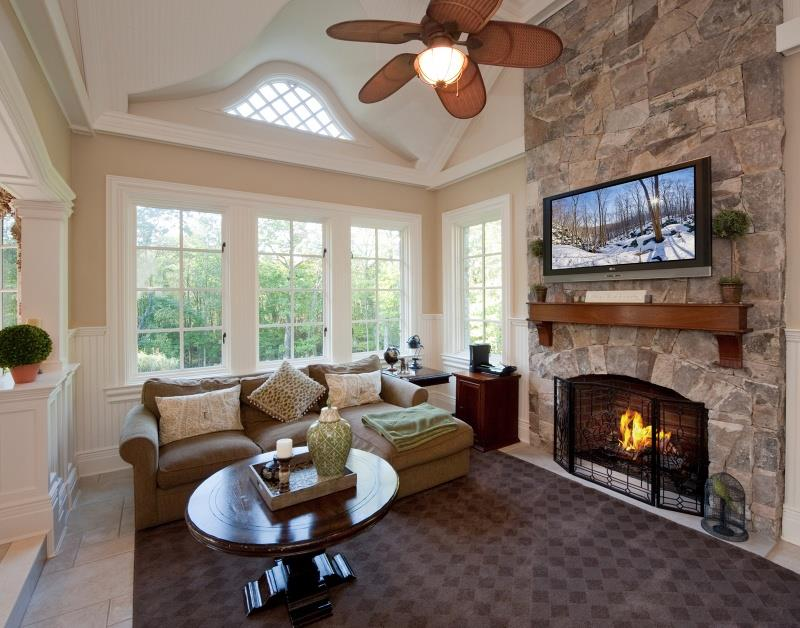 25 Beautiful Family Room Designs-15