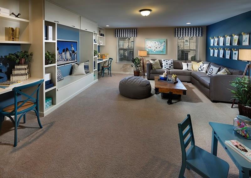 25 Beautiful Family Room Designs-25