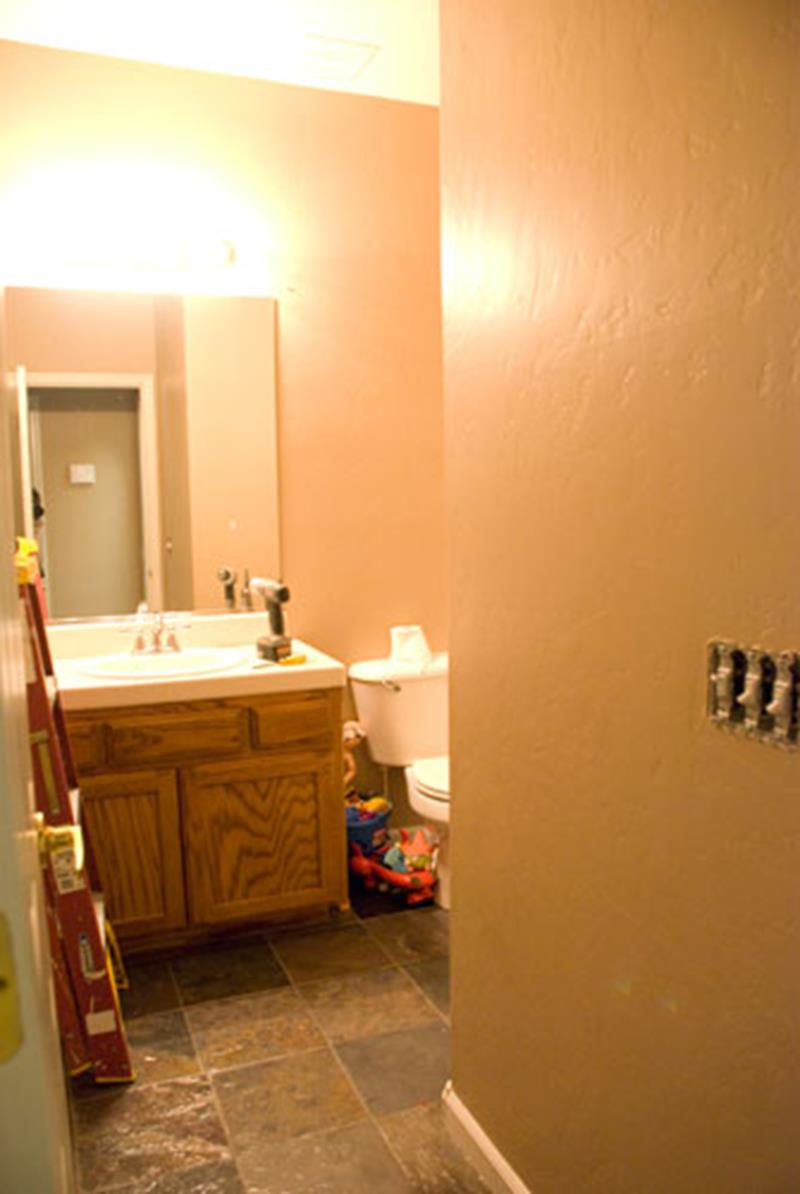 An Amazing Bathroom Remodel with a 100 Budget-1