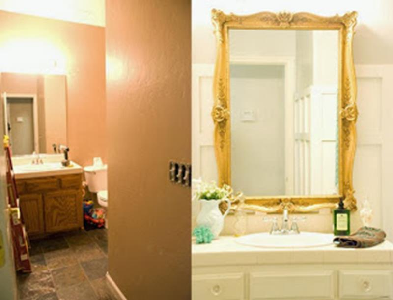 An Amazing Bathroom Remodel with a 100 Budget-3