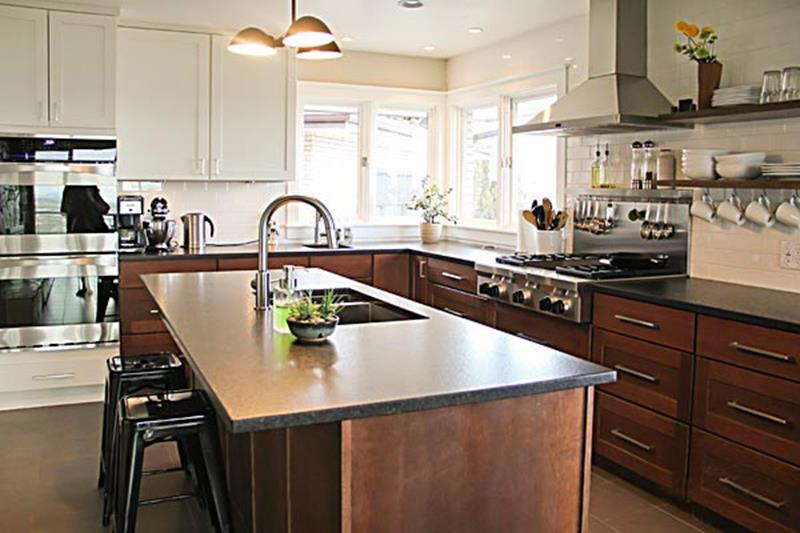 BEFORE AND AFTER 12 Kitchen Remodeling Projects-1b