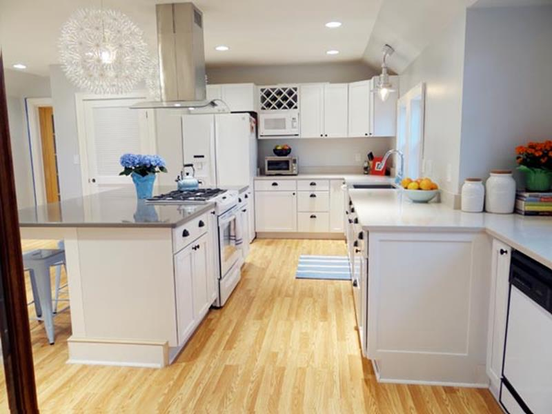 BEFORE AND AFTER 12 Kitchen Remodeling Projects-5b