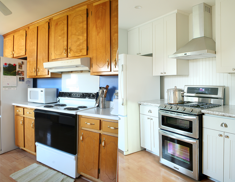 BEFORE AND AFTER 12 Kitchen Remodeling Projects-title