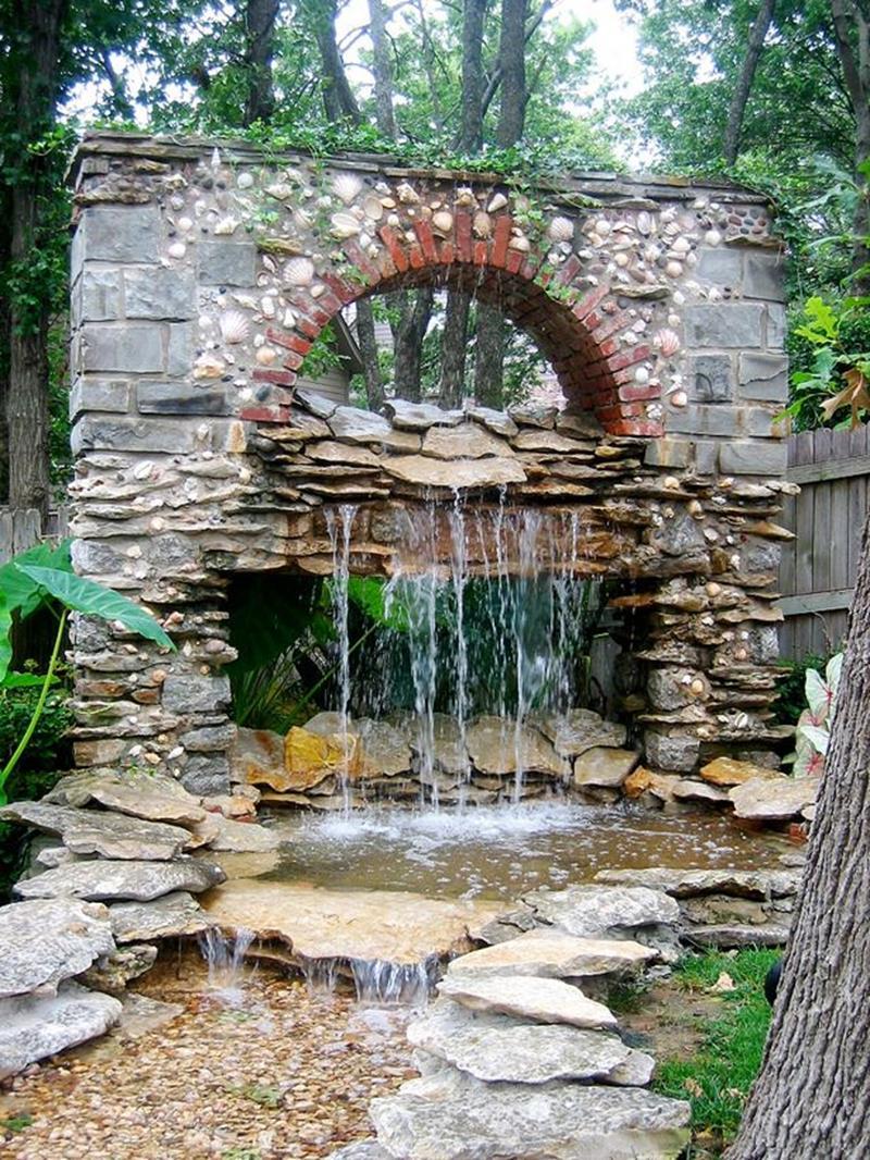 18 Wonderful Ideas for a Garden Pond-1