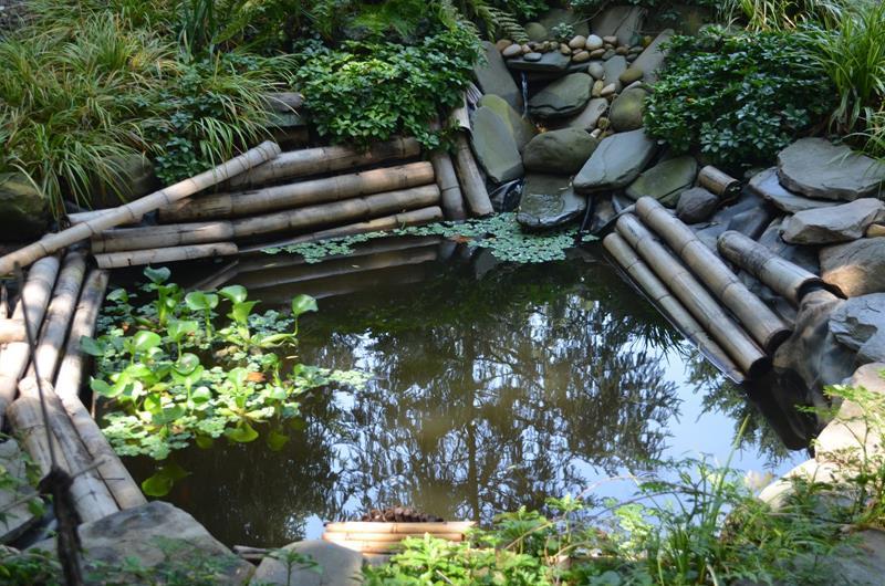 18 Wonderful Ideas for a Garden Pond-3