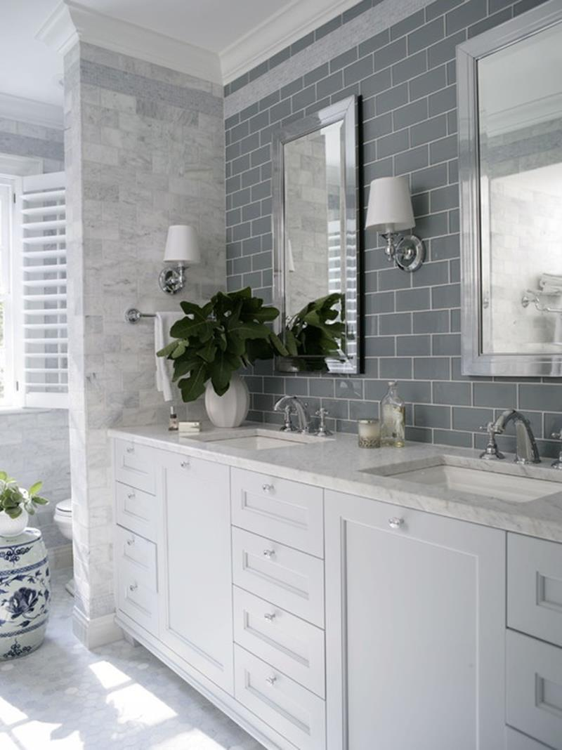 23 Amazing Ideas For Bathroom Color Schemes-1