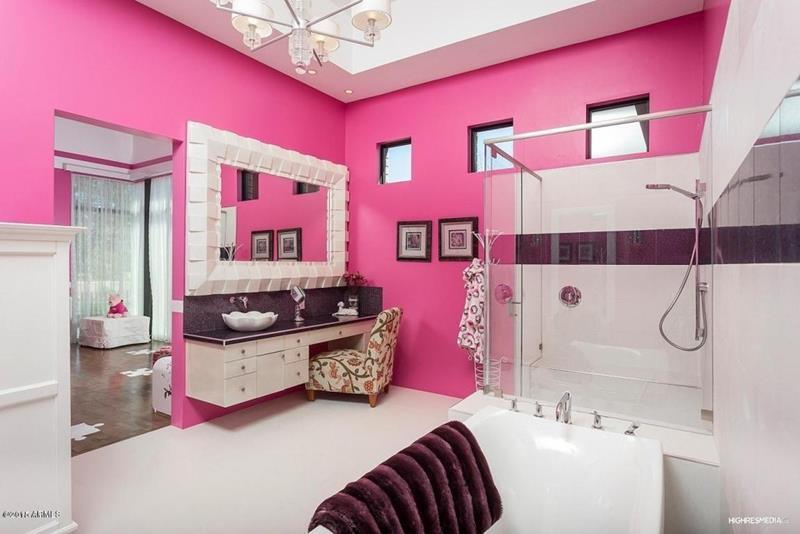 23 Amazing Ideas For Bathroom Color Schemes-13
