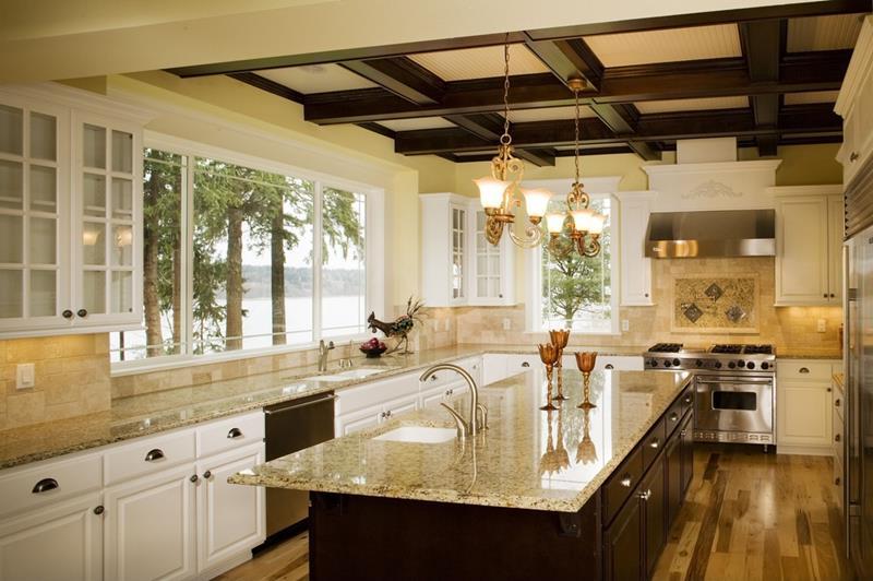 24 Beautiful Granite Countertop Kitchen Ideas-10