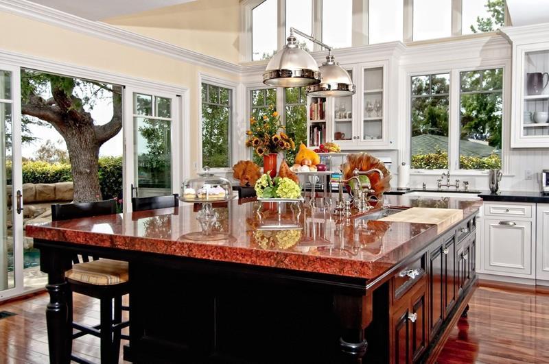 24 Beautiful Granite Countertop Kitchen Ideas-16