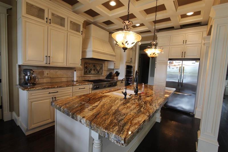 24 Beautiful Granite Countertop Kitchen Ideas-18