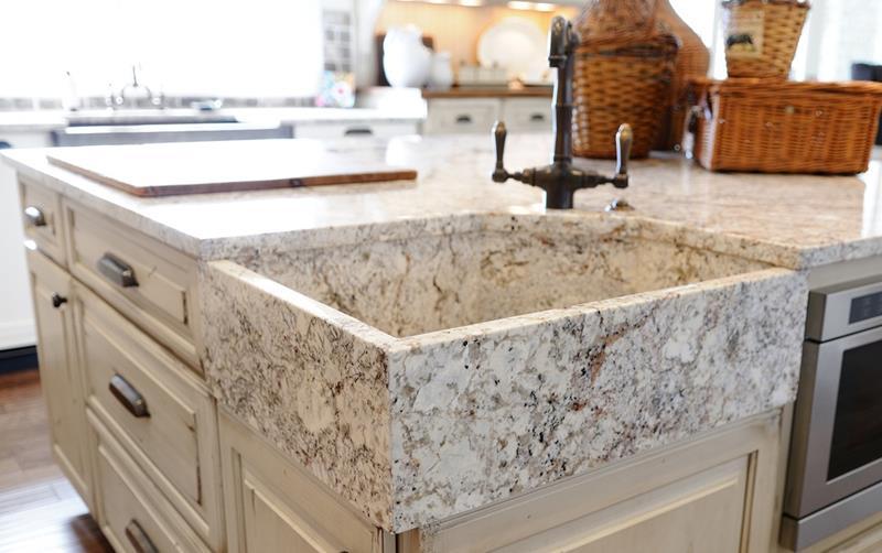24 Beautiful Granite Countertop Kitchen Ideas-24