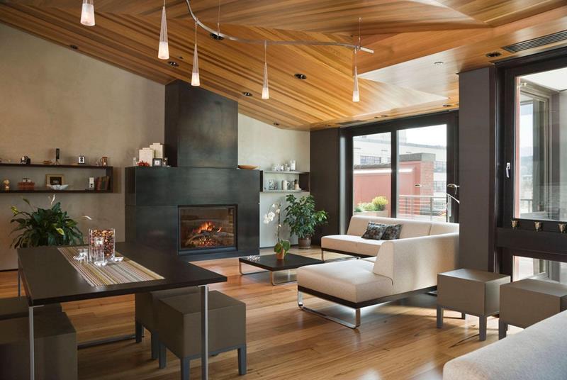 25 Gorgeous Living Room Ceiling Design Ideas-11