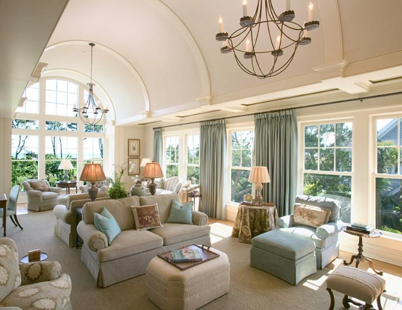 25 Gorgeous Living Room Ceiling Design Ideas-13
