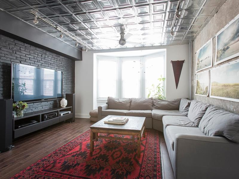 25 Gorgeous Living Room Ceiling Design Ideas-14