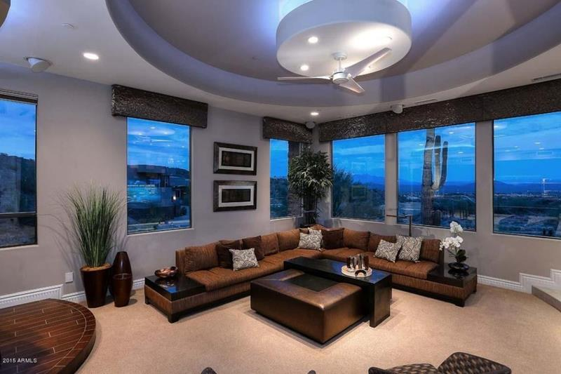 25 Gorgeous Living Room Ceiling Design Ideas-15