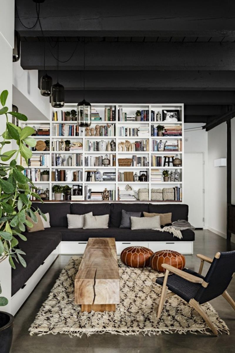 25 Gorgeous Living Room Ceiling Design Ideas-25