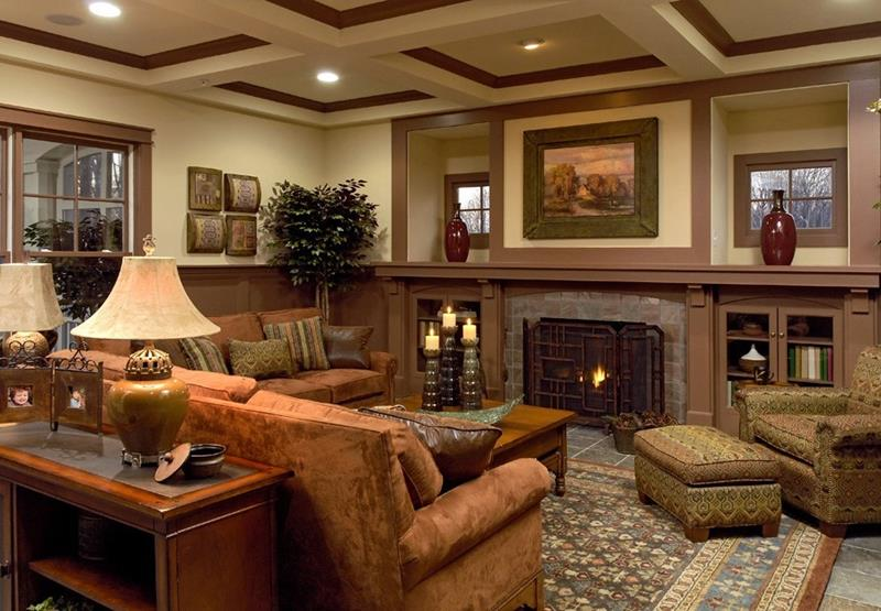 25 Gorgeous Living Room Ceiling Design Ideas-3