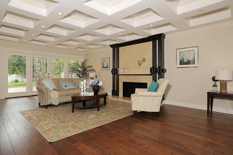 25 Gorgeous Living Room Ceiling Design Ideas-5
