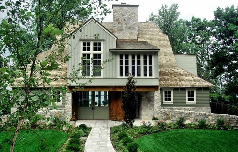 20 Stunning Exteriors with Stone Accents-1